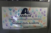 Axalta Opens its Doors to Serviam Girls Academy