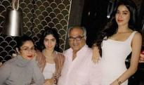 Jahnavi Kapoor and Khushi Kapoor look STUNNING AF at Boney Kapoor's birthday! (see pictures)
