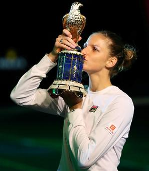Qatar Open: In-form Pliskova wins second title of the year