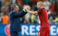 Portugal defender Pepe has thigh problem, won't train Monday