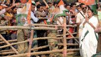 Needling Political Rivals With Graffiti, Slogans in Bengal Polls