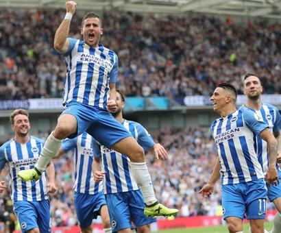 EPL: Hemed's goal gives Brighton win over Newcastle