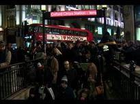Overcrowding at Oxford Circus station