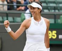 Wimbledon 2017: Garbine Muguruza powers past Svetlana Kuznetsova to reach semi-finals