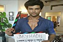 Kushal Tandon begins shooting for Beyhadh, promo out soon