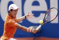 Nishikori eases into Barcelona Open semis after beating Dolgopolov