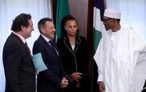 Chibok girls: President Buhari lauds Red Cross