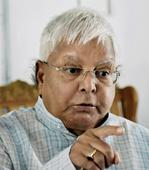 Lalu rules out Tejaswi#39;s resignation, blames BJP