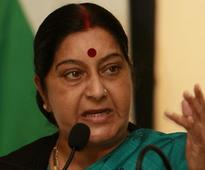 India, Pak have recalled 8 officials each from missions: Swaraj tells Lok Sabha