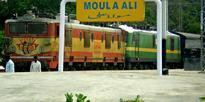 Ayyappa devotees thank SCR for providing halt at Moula Ali