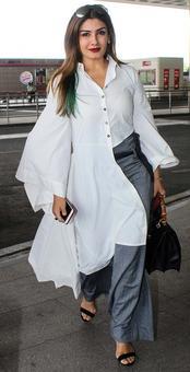 Airport Fashion: Tips from Raveena, Vaani, Hrithik