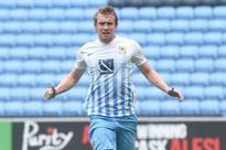 Coventry City's LA Galaxy loan striker Jack McBean looking to push himself into the first team picture with Sky Blues