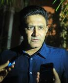 The coach's interview made Kumble nervous