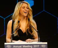 Shakira Urges Business Tycoons To Help Underprivileged Kids To Make Them Tomorrow's Leaders