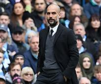 Premier League: Pep Guardiola issues apology for Manchester City red cards
