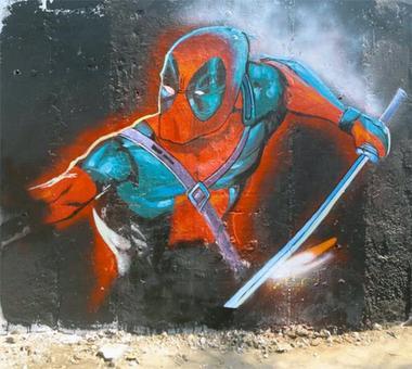 PIX: Deadpool fever grips Mumbai