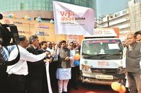 Pradhan flags off vehicles to spread awareness on Paradip refinery
