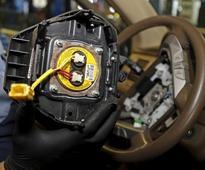 HONDA MOTOR : Automakers are responsible for Takata air bag recalls - NHTSA