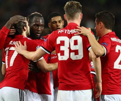 Champions League: United close to knockout stage; PSG, Bayern cruise