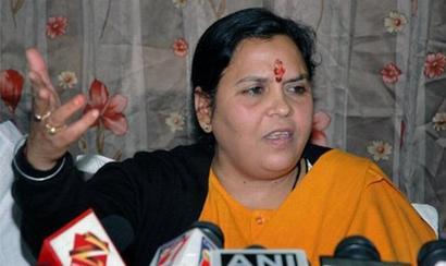 Adityanath most suitable person for UP CM's job: Uma Bharti