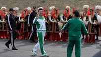 Turkmenistan's leader not happy with lack of Olympic medals
