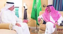 Crown Prince Discusses Latest Developments with Bahraini Interior Minister