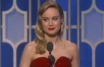 Moment that wiped the smile off Brie Larson's face