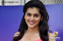 Taapsee saying 'Nene Shabana' in Telugu