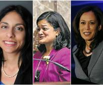 Three Indian-American women in race to make history in US polls