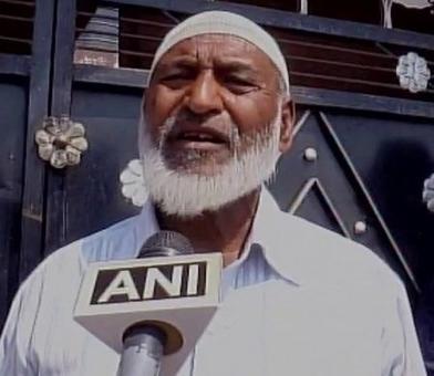 Saifullah's father thanks Rajnath for Parliament message
