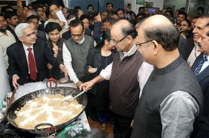 Printing of Budget document begins with 'halwa' ceremony