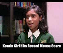 Kerala Girl Hits Record Mensa Score