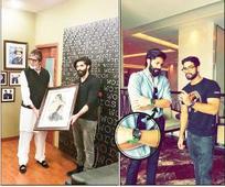 Amitabh Bachchan's green watch thank you to Raj Thackeray's birthday sketch