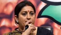Cabinet Committee on Parliamentary Affairs drops Smriti Irani from panel