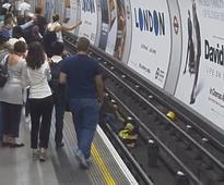Tottenham Court Road Hero Saves Man Who Fell Onto Live London Underground Tracks