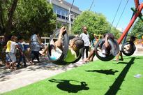 Tutu donation brings joy to hospital school