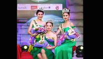 Soibam Kanchan Chanu wins 2nd Runners-up in the 14th Sunsilk Mega Miss North East