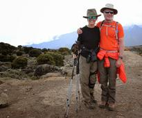 Sporting hero is the first to reach Mount Kilimanjaro summit in wheelchair