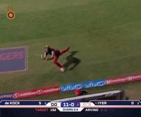 VIDEO: Watch Shane Watson, David Wiese coordinate to take this amazing catch