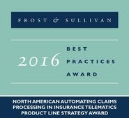 Frost & Sullivan Announces CalAmp as Recipient of 2016 Product Line Leadership Award for Addressing Insurers' Claims Processing Improvement Requirements