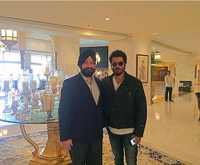 Spotted: Anil Kapoor in New Delhi