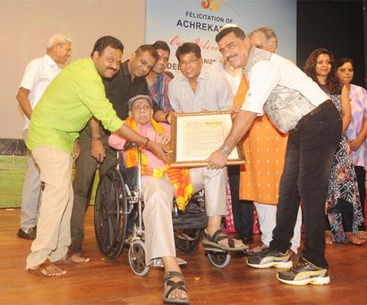 No Sachin but Kambli attends felicitation event for 'Guru' Achrekar