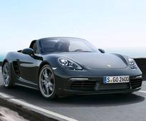 Porsche introduces its Boxster and Cayman sports series in India