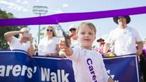 Purple army unites at Canberra relay for life