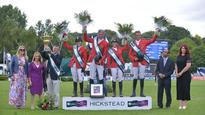 Germany win final leg of FEI Nations Cup Jumping Division 1 at Hickstead