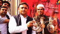 Will take 'netaji' along: Akhilesh Yadav after winning symbol war