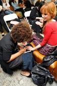 Miss Pop Does Festival Nail Art for Alice + Olivia Runway