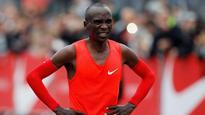 Kenya's Eliud Kipchoge runs fastest marathon, fails to break two-hour barrier