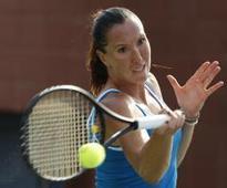 Jankovic advances in rain-hit Hong Kong Open