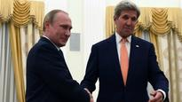 John Kerry meets with Vladimir Putin about cooperating against ISIS in Syria